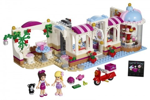 LEGO Friends Cukrárna v Heartlake